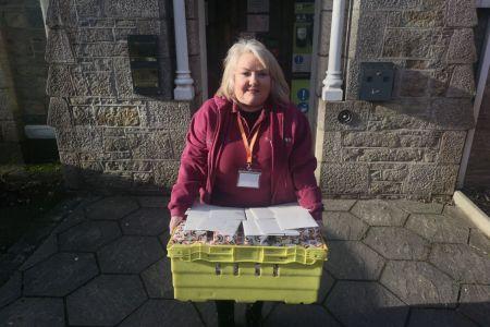 delivering gifts to tregenna nursinhg home.jpg